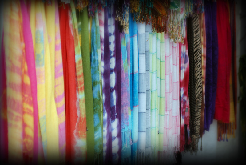 Rainbow of Silk