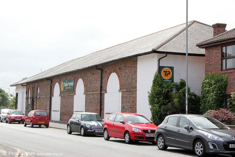 Pocklington goods shed on 1st July 2013.