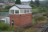 Tondu Signal Box on 17th September 2006. Once known as Tondu Middle, it is a GWR box dating from 1883 and controls the convergence of two branches off the South Wales Main Line towards Maesteg.