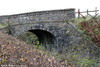 The B4313 road bridge over the former Maenchlochog Railway near Rosebush. This view was taken looking in the direction of Rosebush on 20th October 2012.