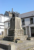 Where it all began: The monument to Richard Trevithick at Penydarren on 9th March 2014.