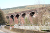 The former Port Talbot Railway red brick viaduct on the line from Tonygroes to Tonmawr. 25th March 2007.