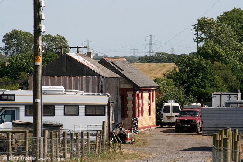 Also on the former TVR Cowbridge to Aberthaw line, the station building at St. Mary Church Road still exists and is similar to that at St. Athan Road, as seen on 27th June 2010.