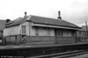 A second view of Ammanford Town station building in 1986.