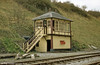 The signal Box at Bitton, Avon Valley Railway was purchased and erected from Painswick Road, Gloucester. It is almost identical to the original signal box which stood on this site.