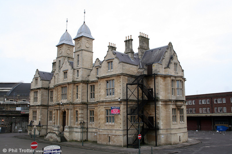 Next door to Temple Meads is Bristol & Exeter House. It was the original headquarters of the Bristol & Exeter Railway, designed by F.C. Fripp and completed in October 1854.