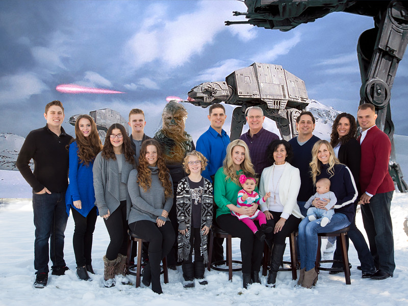 Family Star Wars 2