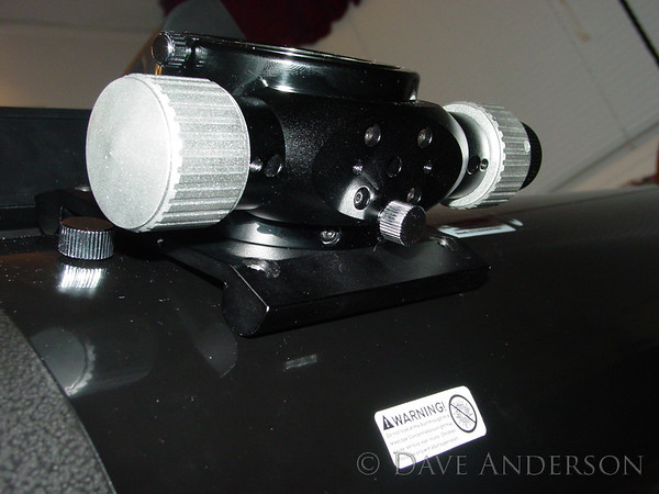 Crayford focuser installed per instructions