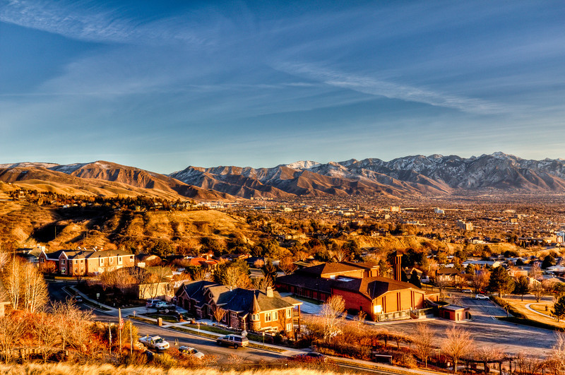 ~ The Avenues View ~ <br /> <br /> Location: Ensign Peak, Salt Lake City, Utah.