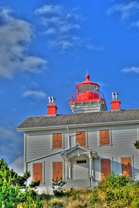 The Lighter of Yaquina -- Yaquina Bay Lighthouse, Newport, Oregon