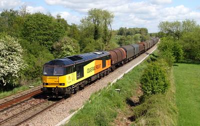 60076 Burghfield 09/05/15 6V62 Tilbury to Llanwern