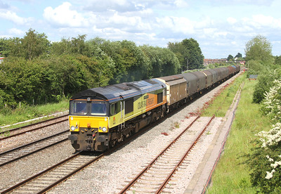 66850 Highworth Junction 07/06/14 6V62 Tilbury to Llanwern