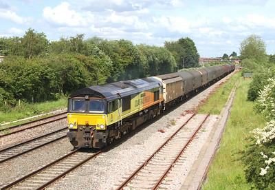 66850 Highworth Junction 07/06/14 6V62 Tilbury to Llanwern
