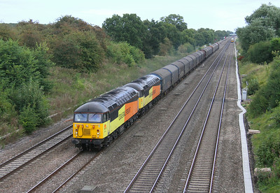 56113 Twyford 16/08/14 6V62 Tilbury to Llanwern with 56087