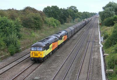 56113 Twyford 16/08/14 6V62 Tilbury to Llanwern with 56087