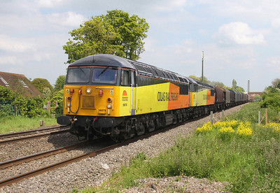 56078 Steventon 17/05/14 6V62 Tilbury to Llanwern with 56113