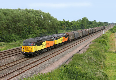 56087 Denchworth 05/07/14 6V62 Tilbury to Llanwern with 56105