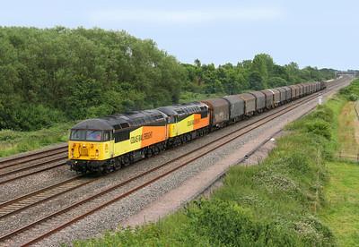 56087 Denchworth 05/07/14 6V62 Tilbury to Llanwern with 56105