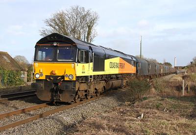 66846 Steventon 08/02/14 6V62 Tilbury to Llanwern