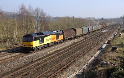 60085 Lower Basildon 20/03/15 6V62 Tilbury to Llanwern