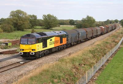 60087 Shrivenham 27/09/14 6V62 Tilbury to Llanwern