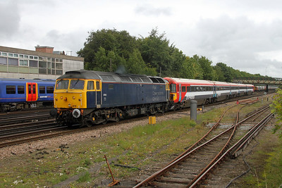 47812 Basingstoke 05/09/17 5O86 Ely Papworth Sidings to Bournemouth with 2416