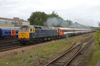 47815 Basingstoke 06/09/17 5O86 Ely Papworth Sidings to Bournemouth with 2404 and 2409