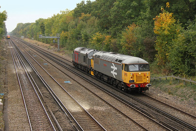 56098 Old Basing 21/10/16 0Z56 Eastleigh to Leicester with 37884