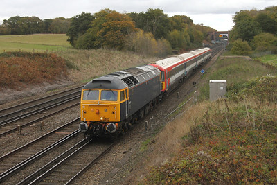 47812 Potbridge 10/11/16 5O86 Ely Papworth Sidings to Eastleigh with 2423