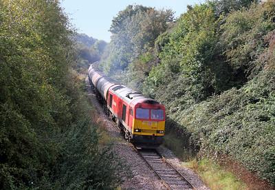 60001 Westerleigh 30/09/14 6E41 Westerleigh to Lindsey