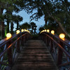 """<h2>The Gentle Bridge</h2> <br/>If I could only clone myself, just for dusk!  After that, all the clones could die off, like in The Prestige.  They could die off in a less-violent way, however...<br/><br/>Usually, when I scout a location (let's say case the joint), I wind up finding a number of spots to take pictures at dusk.  Then, that high-pressure 10 minute-period hits and I run around trying to squeeze them all in... and it's never easy with five exposures each!<br/><br/>This little bridge is at Horseshoe Bay in Texas.  Everyone likes bridges, eh?  Like cute kittens and Yourube videos when dads get hurt in the crotch, they are universal favorites.<br/><br/>- Trey Ratcliff<br/><br/><a href=""""http://www.stuckincustoms.com/2010/02/26/the-gentle-bridge/"""" rel=""""nofollow"""">Click here to read the rest of this post at the Stuck in Customs blog.</a>"""