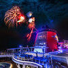 "<h2>Fireworks on the Disney Cruise</h2> I was not sure where exactly the fireworks shot off the top of the Disney Fantasy, so I gambled and guessed that this area on Deck 13 in the ""Adults Only"" area of the ship would be best.  There is a little curving area that juts out that I thought would be perfect...  I asked a few cast members, and they told me to be over on the starboard side, but I tried to explain that I wanted to get the boat in the shot too -- this confounded them... so, anyway, I was over in this spot pretty much by myself... which is fine with me!<br/><br/>- Trey Ratcliff<br/><br/><a href=""http://www.stuckincustoms.com/2012/04/10/fireworks-on-the-disney-cruise/"" rel=""nofollow"">Read the rest of this post over at the Stuck in Customs blog.</a>"