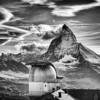 """<h2>The Matterhorn</h2> For most of my life, I've generally only known the Matterhorn for the ride in Disneyland!  I mean, I always knew it was a real mountain... and I've seen photos of it and stuff... but seeing it there in the middle of the Alps was really cool.    I think I was lucky while here in Zermatt, Switzerland.  I understand that it is often occluded by clouds, so this was a lucky day indeed!    Zermatt was a really great little town -- I'd love to go back and spend some more time there!  - Trey Ratcliff  Read the rest, and some info on the new Silver Efx Pro, <a href=""""http://www.stuckincustoms.com/2011/11/11/the-matterhorn/"""">here</a> at the Stuck in Customs blog."""