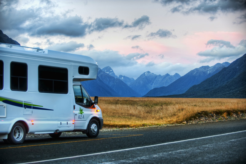 """<h2>My Kea Camper on the South Island</h2><br/>This was one of the prettiest parts of the drive to Milford Sound. You can't miss it. You CAN miss a lot of things down there, but not if you are right along this main road. This is probably one of the most majestic valleys I've ever seen. <br/><br/>- Trey Ratcliff<br/><br/><a href=""""http://www.stuckincustoms.com/2012/07/08/my-kea-camper-on-the-south-island/"""" rel=""""nofollow"""">Click here to read the entire post at the Stuck in Customs blog.</a>"""