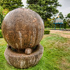 "<h2>The Mysterious Stone Sphere</h2> <br/>I used a 14-24 lens for this shot, and I am still amazed how close I have to get to a subject to get it to fill up the frame.  Usually, I have to get uncomfortably close to the subject.  I suppose it's not uncomfortable with an inanimate object, but, still.... you know what I mean if you have done this. <br/><br/> - Trey Ratcliff <br/><br/>Read more <a href=""http://www.stuckincustoms.com/2010/07/25/the-mysterious-stone-sphere/"">here</a> at stuckincustoms.com"