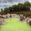 """<h2>The Green Pool</h2> <br/>The northern island of New Zealand has a geothermal area in Rotorua called Wai-o-tapu that is filled with these strange places.  One of the best things about these are the names... Various mysterious pits have names like the Devil's Throat, Hell's Gate, and Devil's Cauldron.  You don't want to drop your cell phone in any of these.<br/><br/> - Trey Ratcliff <br/><br/>Read more and see a behind-the-scenes video <a href=""""http://www.stuckincustoms.com/2010/10/27/the-green-pool-of-new-zealand/"""">here</a> at stuckincustoms.com."""