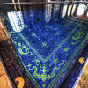 """<h2>Slipping into the Pool</h2> <br/>This vast indoor pool at Hearst Castle is just about perfect.  The only thing that would have been more perfect is if I was actually inside of it!  If I wasn't such an honorable guy, I would have stripped down and jumped in for a bit.  It would have taken at least 15 minutes for security to get me out of there.  But it would have been a sweet sweet 15 minutes.  I could just say that I lost my mind for a bit... <br/><br/> - Trey Ratcliff <br/><br/>Read more <a href=""""http://www.stuckincustoms.com/2010/07/30/slipping-into-the-pool/"""">here</a>."""