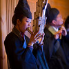 "<h2>The Mysterious Chinese Woodwind</h2> <br/>In one of the older areas of Beijing, I visited several different operas.  Luckily, my team on the ground there was able to talk to the management to make sure I could walk around anywhere during the performance to find interesting things.  I saw this woman playing this most unusual instrument, so I stayed in her area for a while until the light was right.<br/><br/>This opera had some very unusual instruments, and I heard sounds that were completely foreign to me.  They say that these instruments and styles have been handed down over centuries, and I suppose that is why they sound so unique.  There's one sound in particular, not made from the instrument, that I can't ever forget.  It sounds vaguely, forgive me, like a large metal mixing bowl, 1/3 full of water, that is struck with another, empty metal bowl.  It's a jarring but mystical sound... maybe you know the instrument I am talking about?  Or maybe you recognize the one from this photo?<br/><br/>- Trey Ratcliff<br/><br/><a href=""http://www.stuckincustoms.com/2011/01/19/the-mysterious-chinese-woodwind/"" rel=""nofollow"">Click here to read the rest of this post at the Stuck in Customs blog.</a>"