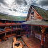 "<h2>Shakespeare's Globe Theater</h2> <br/>Ever heard of this guy?  He wrote plays or something like that? <br/><br/>Now, this is not the original theater, but it is a fully operational new version of it, located right beside the Thames in Central London.  I was lucky enough to get a private tour of the facility and it was really cool, as you can see.  Everything appears to be pretty authentic, from the thatched roof to the multiple view levels.  In fact, it's exactly how I remember it from Civilization.<br/><br/>The guy that was showing us around said that, after it was first constructed, that veteran British actors scoffed at it, thinking it was more of a tourist attraction than a serious place to act.  But that sentiment has changed in recent years, with more and more big names coming to act out the classics.  I didn't get to stay around for a performance, but I think it would have been pretty impressive...  the space is very tiny and intimate.  And even though it's a replica and ""pretend"", that's all acting is anyway... so I think everyone could easily get caught up in the moment of it all.<br/><br/>- Trey Ratcliff<br/><br/><a href=""http://www.stuckincustoms.com/2011/01/25/shakespeares-globe-theater/"" rel=""nofollow"">Click here to read the rest of this post at the Stuck in Customs blog.</a>"