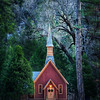 "<h2>Little Church in Yosemite</h2> While in the meadows between the mountains of Yosemite, I did not expect to see this little church.<br/><br/>And waiting for the right kind of light was another challenge.  The light down in the valley is so strange.  The sheer walls of the mountains on both sides are so steep that the sun disappears quite early in the day.  Everything becomes a little-bit-dreamy then, and I felt like that was a good time to take the shot.<br/><br/>- Trey Ratcliff<br/><br/><a href=""http://www.stuckincustoms.com/2012/03/02/little-church-in-yosemite/"" rel=""nofollow"">Click here to read the rest of this entry at the Stuck in Customs blog.</a>"