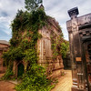 "<h2>The Overgrown Crypt</h2> <br/>Here is another shot from La Recoleta cemetery in Argentina.  Every crypt seemed to have its own story...  I wish I could have heard the tales of each one.  But, on the plus side, I did have my over-active imagination to fill in the blanks.<br/><br/>All of my shots from La Recoleta (click on the ""Buenos Aires"" tag here in the post to see the others) were handheld because my tripod was lost with the rest of my luggage.  Usually, I never check my tripod for just that very reason!  I just don't really trust those people...  And I've never had a problem bringing it on the plane except for one time when a busy-body security lady told me it was 1-inch too long.  1 inch!<br/><br/>- Trey Ratcliff<br/><br/><a href=""http://www.stuckincustoms.com/2010/03/11/la-recolata/"" rel=""nofollow"">Click here to read the rest of this post at the Stuck in Customs blog.</a>"