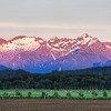 "<h2>Pink Mountains During Morning Sunrise</h2> Te Anau is a great little town down in the southern fjord area of New Zealand.  It's sort of the stopping-off point for Milford Sound and Doubtful Sound.  It's also a great home base for photography, because there are countless things to see within just a short drive.  I woke up early one morning to drive out towards Doubtful Sound and I saw this scene in my rear-view mirror.  - Trey Ratcliff  The rest of this blog entry is <a href=""http://www.stuckincustoms.com/2011/09/17/pink-mountains-during-morning-sunrise/"">here</a> at stuckincustoms.com."