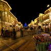 """<h2>The Magic of Disney's Main Street at Night</h2> <br/>Disney after dark is very cool...  All the lights change and it comes alive even more, if possible.  One trick that I have picked up is the essential nap while at Disneyworld for the entire family.  We head back to the room after a busy morning and a carbo-bloat lunch for a family nap.  It keeps everyone sane.  And then, we can all stay up late with minimal chance of breakdown.  Seeing kids breakdown at Disneyworld is just not right... it's not so Disney...<br/><br/>- Trey Ratcliff<br/><br/><a href=""""http://www.stuckincustoms.com/2009/08/29/the-magic-of-disneys-main-street-at-night/"""" rel=""""nofollow"""">Click here to read the rest of this post at the Stuck in Customs blog.</a>"""