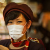 "<h2>Japanese Girl with Mask</h2> <br/>The white mask is a popular meme in Japan. It's pervasive and it affects all ages. I see school children wearing masks, old people in the subway, and everyone in between. I was waiting to see a new trend where the face masks have designs — quirky, cute Japanese designs. If no one has done it, then there's a great idea for you.<br/><br/>I like them, I suppose. In a way, it makes everyone look a little bit mysterious, and that is sort of interesting. <br/><br/>- Trey Ratcliff<br/><br/><a href=""http://www.stuckincustoms.com/2011/03/23/japanese-girl-with-mask/"" rel=""nofollow"">Click here to read the rest of this post at the Stuck in Customs blog.</a>"