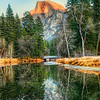 """<h2>Reflections in Yosemite</h2> <br/>I'm currently with Karen Hutton and many other people in New Zealand. One of my previous trips with Karen was to this very place! We jumped around mud bank after mud bank until we found a clean reflection. It was quite cold… I think we were both thinking of getting back inside for something warm to drink!<br/><br/>- Trey Ratcliff<br/><br/><a href=""""http://www.stuckincustoms.com/2013/02/09/reflections-in-yosemite/"""" rel=""""nofollow"""">Click here to read the rest of this post at the Stuck in Customs blog.</a>"""