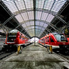 """<h2>The Gestalt of Coming and Going</h2> <br/>I do love train stations in Europe!<br/><br/>I think each one has a personality of its own, and the gestalt is a function of the trains that come to visit. Leipzig wouldn't be Leipzig if it never made a connection to Dresden. The stations really have no say in the matter and connections just get made on their own. It's the natural order of things. Whatever it is about Dresden that makes it special becomes part of Leipzig, and vice versa.<br/><br/>This is from my LucisArt 6.0 tutorial… I'm still a-workin' on it when my mind has moments of lucid thought.<br/><br/>- Trey Ratcliff<br/><br/><a href=""""http://www.stuckincustoms.com/2009/01/30/coming-and-going/"""" rel=""""nofollow"""">Click here to read the rest of this post at the Stuck in Customs blog.</a>"""