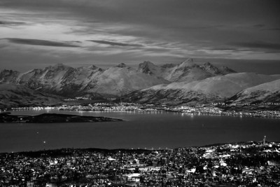 Winter in Tromsø - B&W