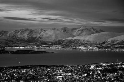 Winter in Tromsø - B&W