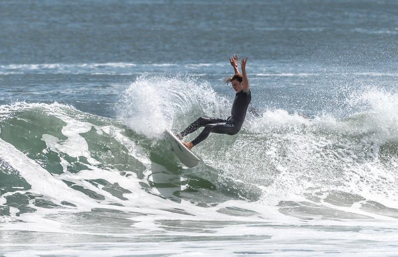 Surfer in Manasquan 9/8/17