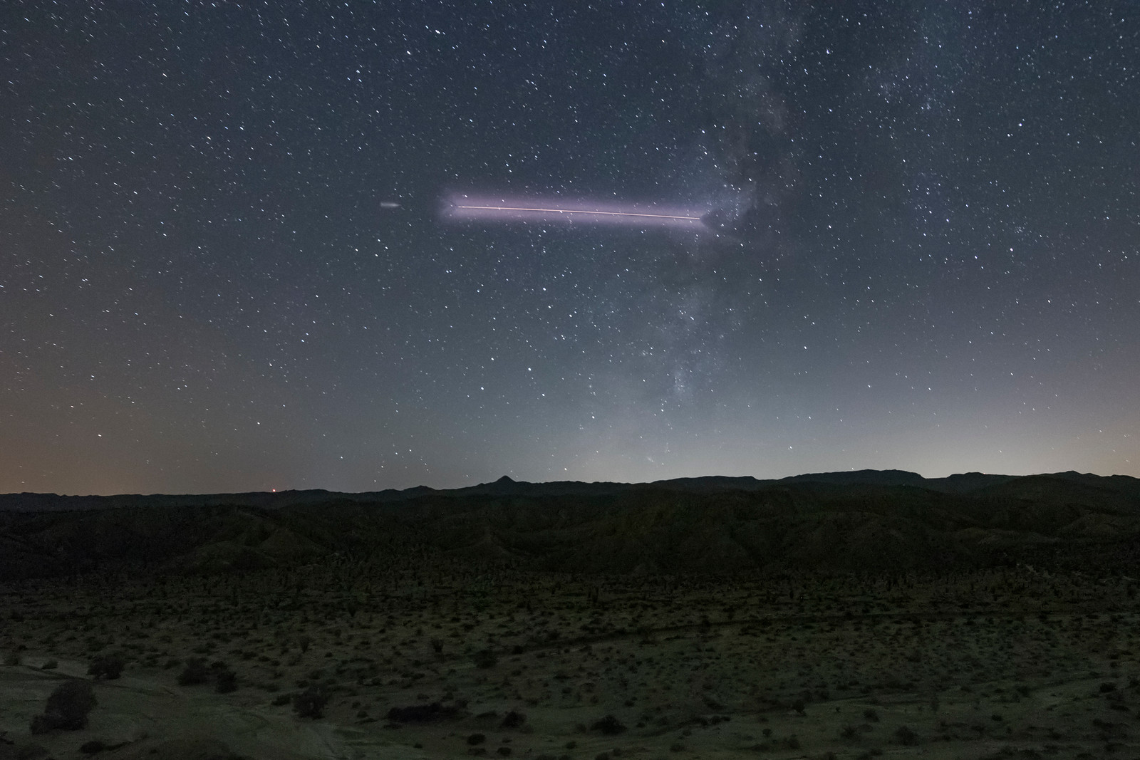 Vandenberg Air Force Base NROL-42 Atlas 5 Rocket Flies Through the Milky Way